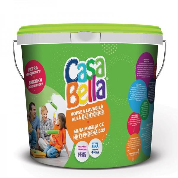CasaBella - Vopsea lavabilă pentru suprafețe interioare (15L)