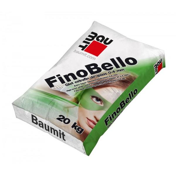 Baumit FinoBello - Glet extrafin de ipsos 0-6 mm (20kg)
