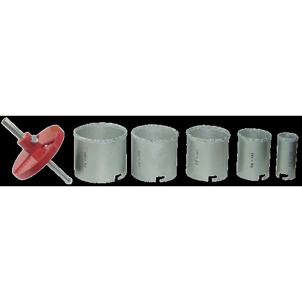Freze Carbură Tungsten pentru Beton (5 bucăți/set)