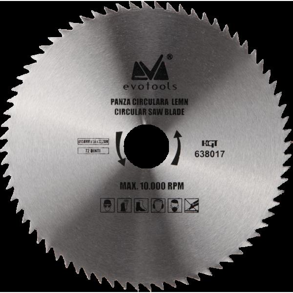 Pânză Circulară pentru Lemn (115mm Diametru)