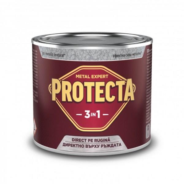 PROTECTA - Email 3 în 1 cu aplicare direct pe rugină (0.5L)