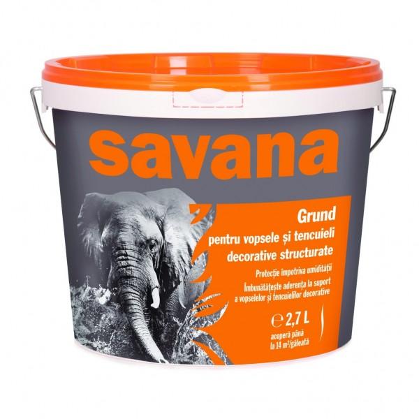 Savana - Grund pentru vopsele și tencuieli decorative (18L)