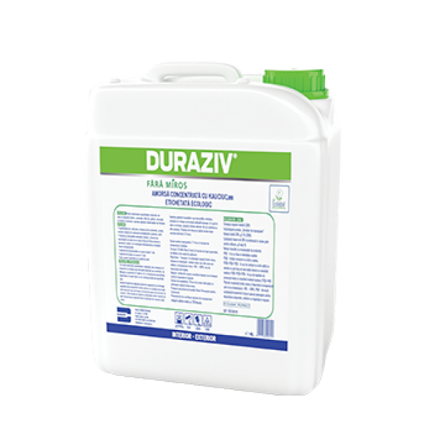 DURAZIV Fără Miros - Amorsă concentrată cu Kauciuc®, Ecolabel (4L)