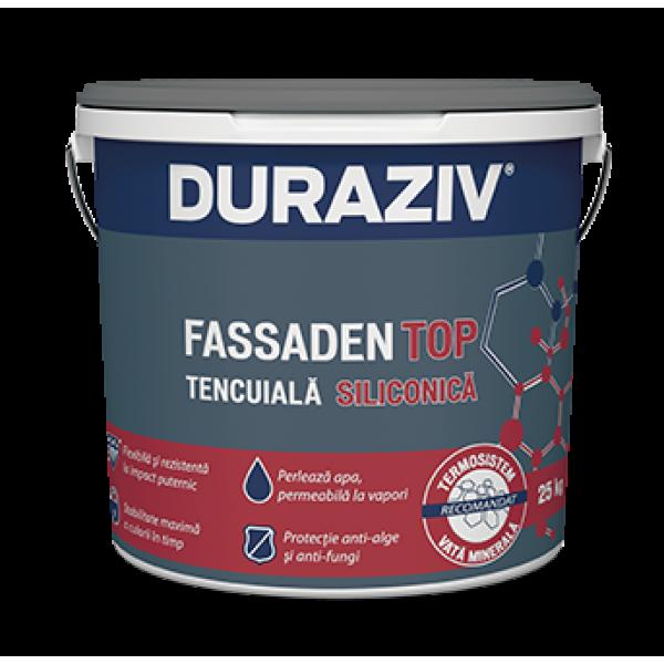 DURAZIV FASSADEN TOP - Tencuială decorativă siliconică MD (25kg)
