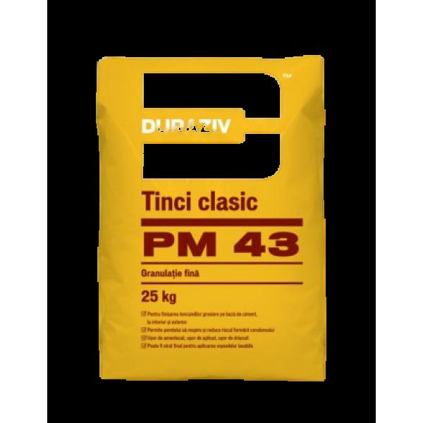 DURAZIV PM 43 - Tinci clasic pentru interior și exterior (25kg)