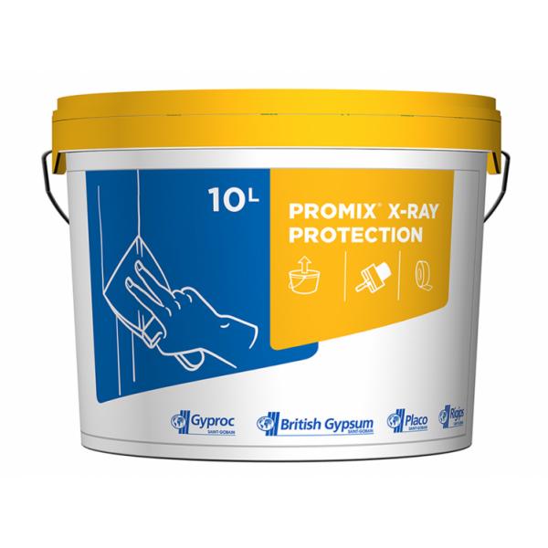 Rigips® ProMix X-RAY PROTECTION - Chit de rosturi cu conținut de sulfat de bariu (10L)