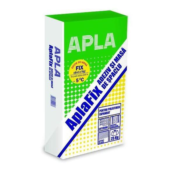 AplaFix - Adeziv şi masă de şpaclu pentru polistiren expandat (25kg)
