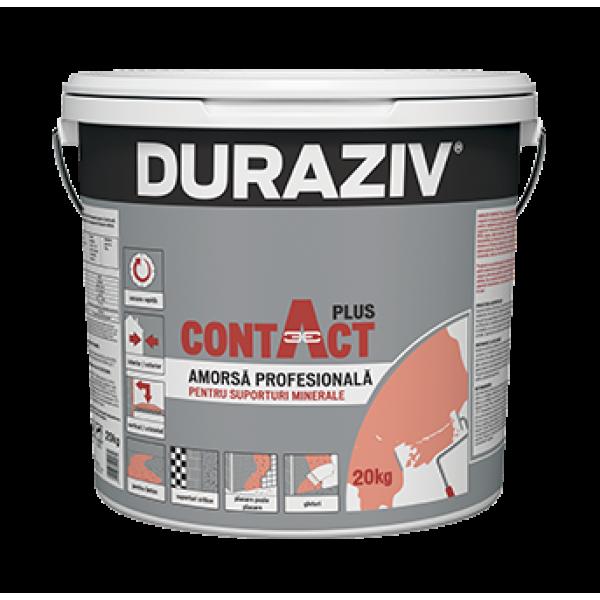 DURAZIV CONTACT - Amorsă profesională pentru suporturi minerale (20kg)