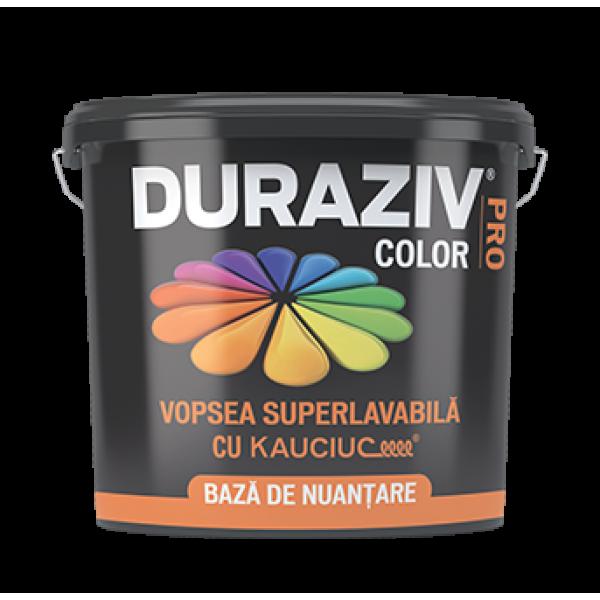 DURAZIV ColorPRO - Vopsea superlavabilă, bază de nuanțare Accent, cu Kauciuc® (2.5L)