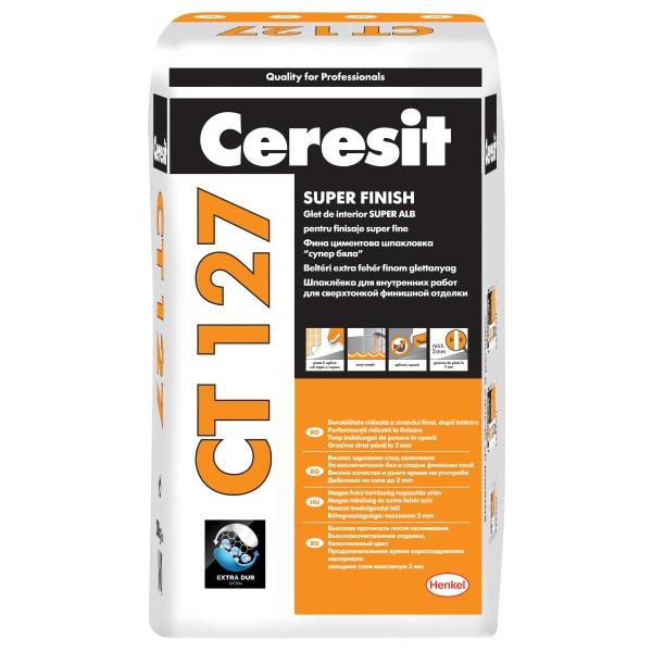 Ceresit CT 127 - Glet pentru finisaje fine la interior (20kg)