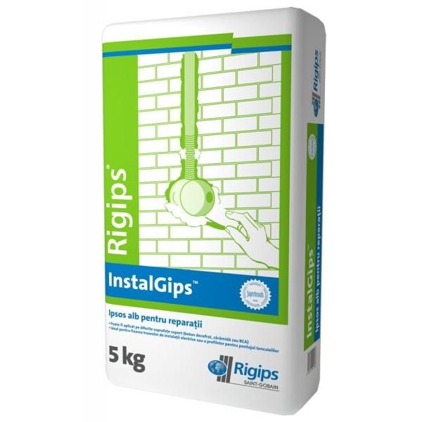 Rigips® INSTAL GIPS - Ipsos gri pentru mici reparații (5kg)