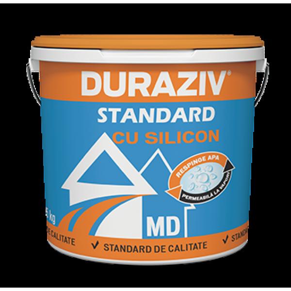 DURAZIV Standard cu Silicon - Tencuială decorativă granulată MD (25kg)