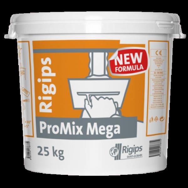 Rigips® PROMIX MEGA - Pastă pentru umblerea rosturilor și finisarea suprafețelor (25kg)