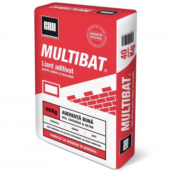 CRH Multibat® - Liant aditivat pentru tencuială și zidărie (40kg)