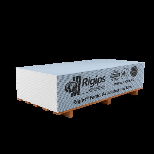 Rigips® Fonic - Placa de gips-carton tip D pentru izolare fonică (12,5x1200x2000)