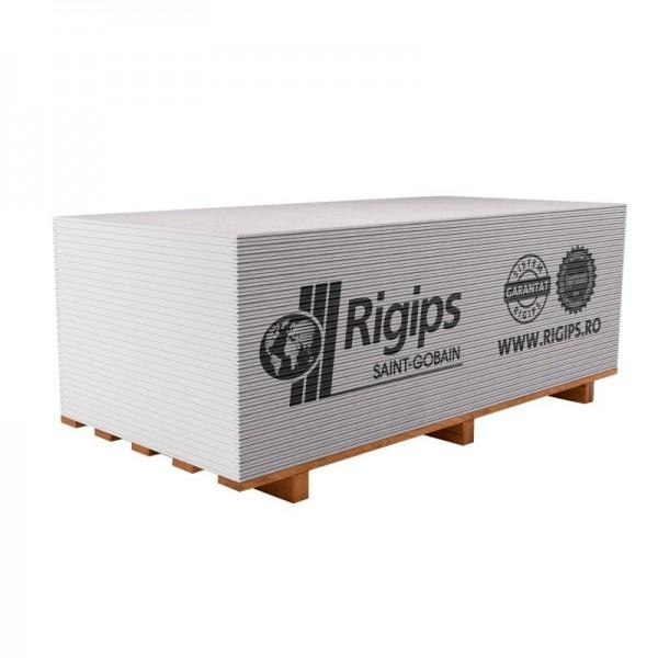 Rigips® 600 RB 12,5 - Placa de gips-carton tip A pentru construcții (12,5x600x2000)