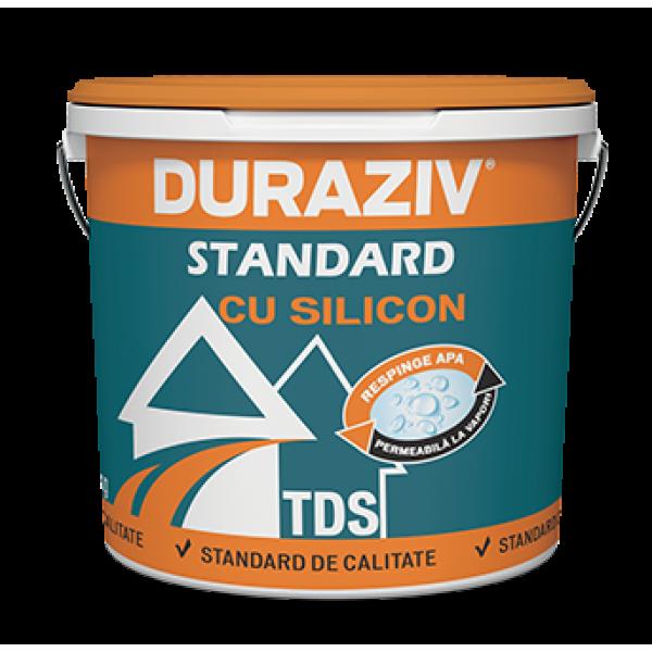 DURAZIV Standard cu Silicon - Tencuială decorativă structurată TDS (25kg)