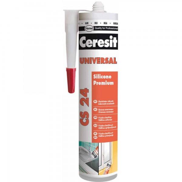 Ceresit CS24 - Silicon universal alb (280ml)