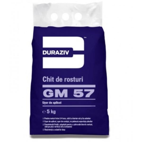 DURAZIV GM 57 - Chit de rosturi - diferite culori (5kg)