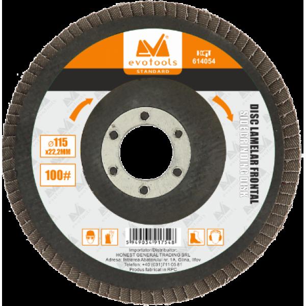 Disc Lamelar Frontal 115mm (100# Granulație)