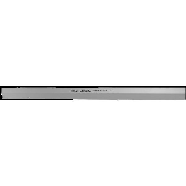 Dreptar cu Profil Pană din Aluminiu (1.5m Lungime)
