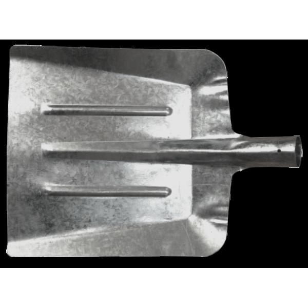 Lopată pentru Zăpadă din Tablă placată cu Zinc (340x330mm)