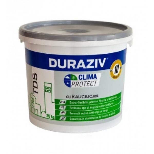 DURAZIV Clima Protect® - Tencuială decorativă structurată cu Kauciuc® (25kg)