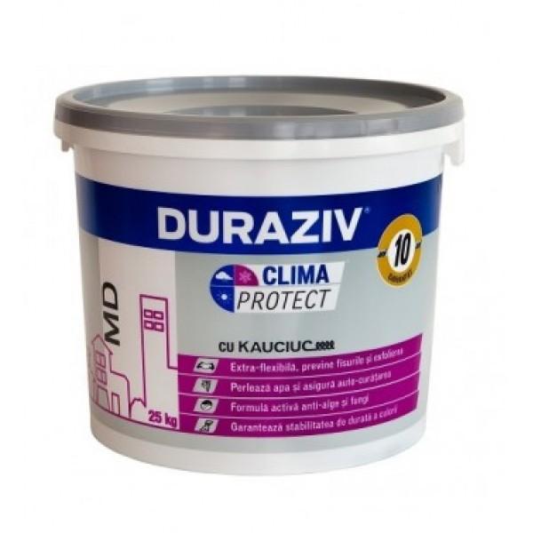 DURAZIV Clima Protect® - Tencuială decorativă granulată MD, cu Kauciuc® (25kg)