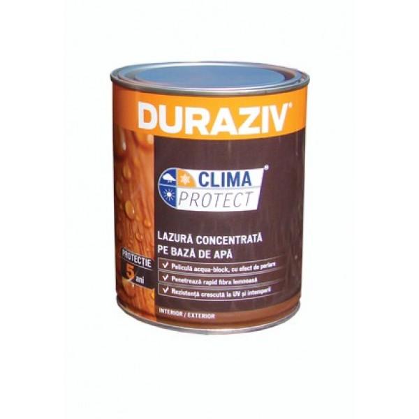 DURAZIV Clima Protect® - Lazură concentrată pe bază de apă (0.65L)