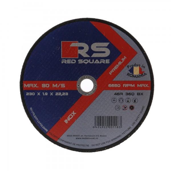RS Premium - Disc Plan pentru Debitat 115mm (1.5mm Grosime) - Fabricat în România