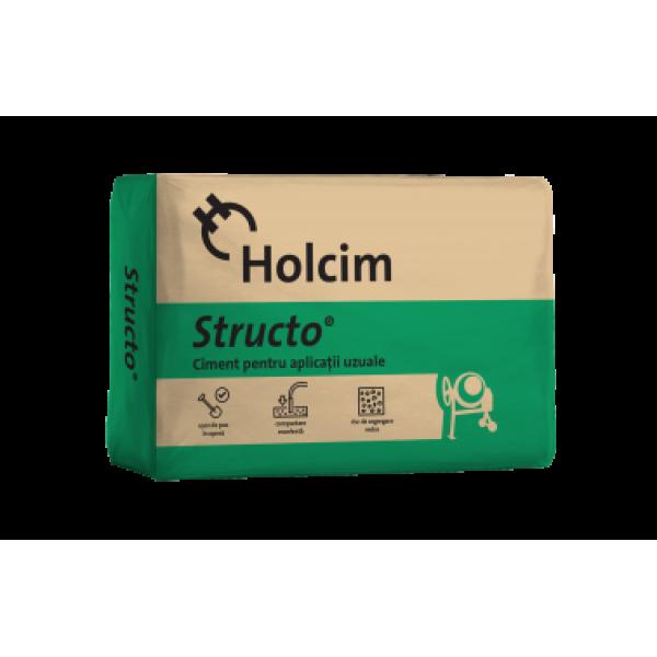 Holcim - Ciment Structo® pentru aplicații uzuale (40kg)