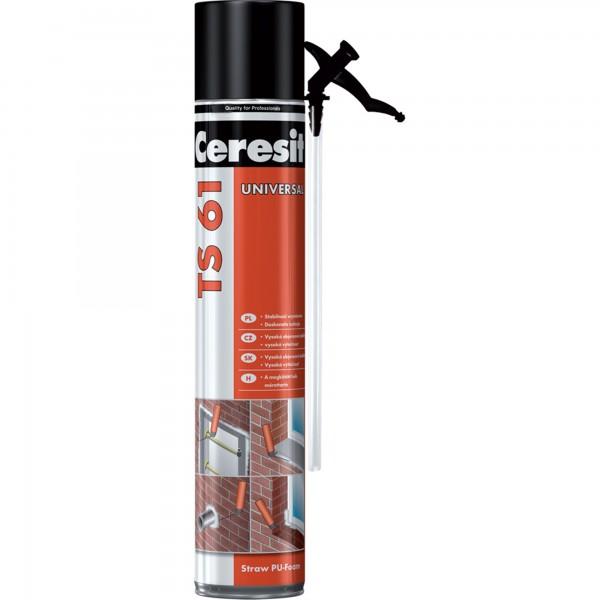 Ceresit TS 61 Universal - Spumă poliuretanică de montaj (500ml)